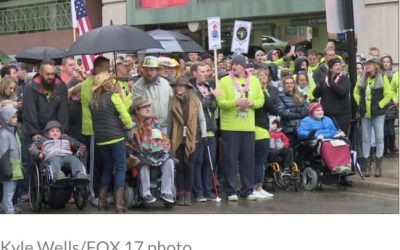 320-Foot Race Makes Strides in Muscular Dystrophy fight